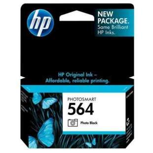 Original Hewlett Packard (HP) CB317WN (HP 564 ink) high quality inkjet cartridge - photo black