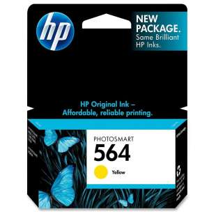 Original Hewlett Packard (HP) CB320WN (HP 564 ink) high quality inkjet cartridge - yellow