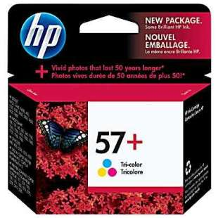 Original Hewlett Packard (HP) CB278AN (HP 57+ ink) high quality inkjet cartridge - color cartridge
