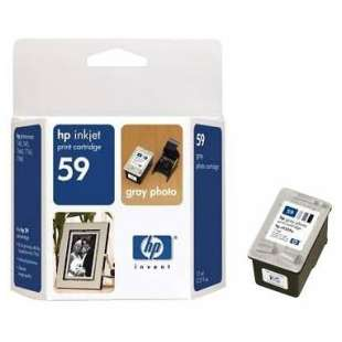 Original Hewlett Packard (HP) C9359AN (HP 59 ink) high quality inkjet cartridge - photo gray