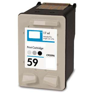 Remanufactured HP C9359AN (HP 59 ink) high quality inkjet cartridge - photo gray