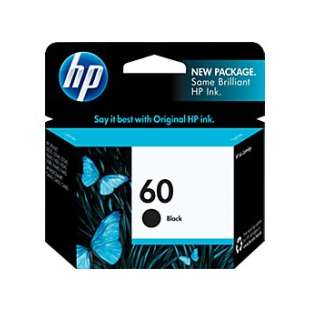 Original Hewlett Packard (HP) CC640WN (HP 60 ink) high quality inkjet cartridge - black cartridge