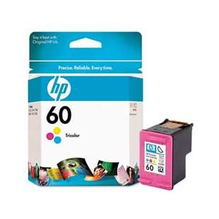 Original Hewlett Packard (HP) CC643WN (HP 60 ink) high quality inkjet cartridge - color cartridge