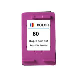 Remanufactured HP CC643WN (HP 60 ink) high quality inkjet cartridge - color cartridge