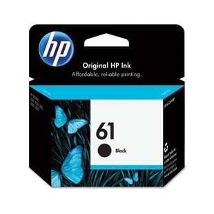 Original Hewlett Packard (HP) CH561WN (HP 61 ink) high quality inkjet cartridge - black cartridge