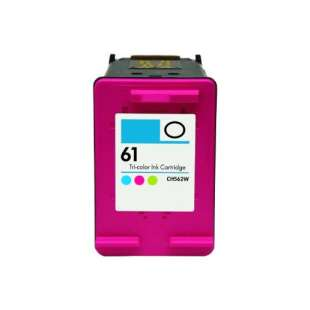 Remanufactured HP CH562WN (HP 61 ink) high quality inkjet cartridge - color cartridge