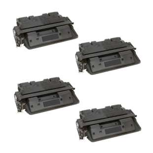 Compatible HP C8061X (61X) toner cartridges - 4-pack