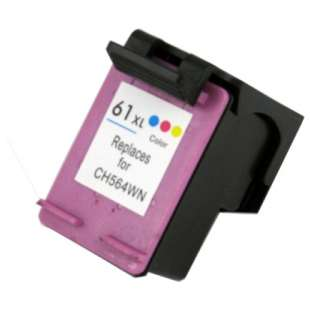 Remanufactured HP CH564WN (HP 61XL ink) high quality inkjet cartridge - high capacity color