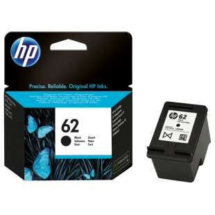 Original Hewlett Packard (HP) C2P04AN (HP 62 ink) high quality inkjet cartridge - black cartridge