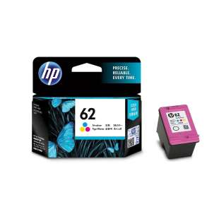 Original Hewlett Packard (HP) C2P06AN (HP 62 ink) high quality inkjet cartridge - color cartridge