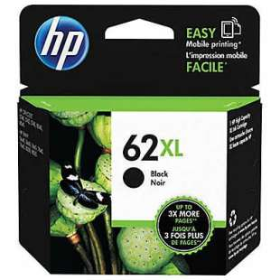 Original Hewlett Packard (HP) C2P05AN (HP 62XL ink) high quality inkjet cartridge - high capacity black