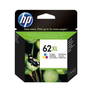 Original Hewlett Packard (HP) C2P07AN (HP 62XL ink) high quality inkjet cartridge - high capacity color