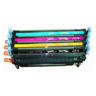 Compatible for HP 643A toner cartridges - 4-pack