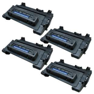 Compatible HP CC364A (64A) toner cartridges - 4-pack