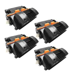 Compatible HP CC364X (64X) toner cartridges - 4-pack
