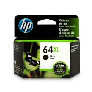 Original HP N9J92AN (HP 64XL) inkjet cartridge - high capacity black