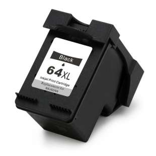 Remanufactured HP N9J92AN (HP 64XL) inkjet cartridge - black