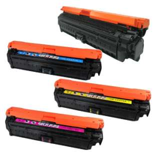 Compatible for HP 650A toner cartridges - 4-pack