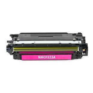 Compatible for HP CF323A (653A) toner cartridge - magenta