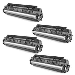 Compatible HP 657X toner cartridges - 4-pack