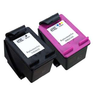 Remanufactured high quality inkjet cartridges Multipack for HP 65XL - 2 pack