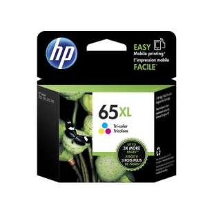 Original Hewlett Packard (HP) N9K03AN (HP 65XL ink) high quality inkjet cartridge - high capacity color
