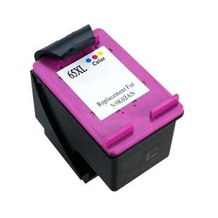 Remanufactured HP N9K03AN (HP 65XL ink) high quality inkjet cartridge - high capacity color