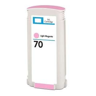 Remanufactured HP C9455A (HP 70 ink) high quality inkjet cartridge - light magenta
