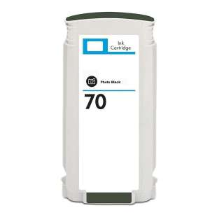 Remanufactured HP C9449A (HP 70 ink) high quality inkjet cartridge - photo black