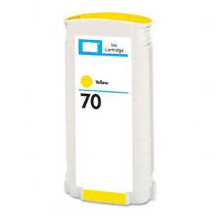 Remanufactured HP C9454A (HP 70 ink) high quality inkjet cartridge - yellow