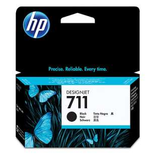 Original Hewlett Packard (HP) CZ129A (HP 711 ink) high quality inkjet cartridge - black cartridge