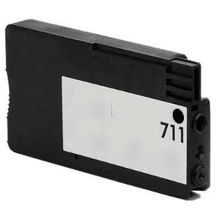 Remanufactured HP CZ129A (HP 711 ink) high quality inkjet cartridge - black cartridge