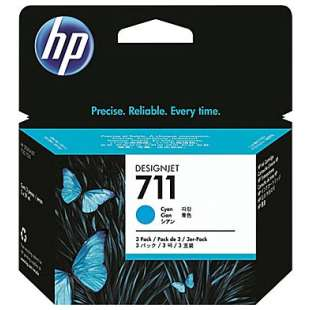 Original Hewlett Packard (HP) CZ130A (HP 711 ink) high quality inkjet cartridge - cyan
