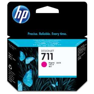 Original Hewlett Packard (HP) CZ131A (HP 711 ink) high quality inkjet cartridge - magenta