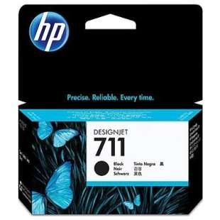 Original Hewlett Packard (HP) CZ133A (HP 711XL ink) high quality inkjet cartridge - high capacity black