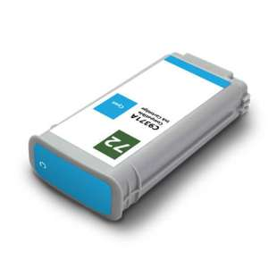 Remanufactured HP C9398A (HP 72 ink) high quality inkjet cartridge - cyan
