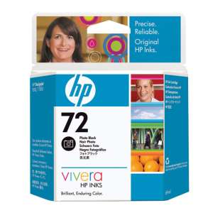 Original Hewlett Packard (HP) C9397A (HP 72 ink) high quality inkjet cartridge - photo black