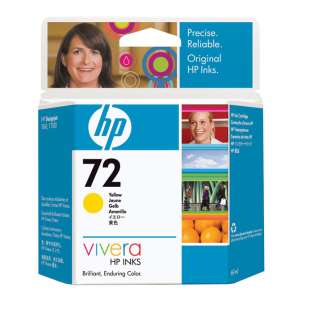 Original Hewlett Packard (HP) C9400A (HP 72 ink) high quality inkjet cartridge - yellow