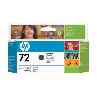 Original Hewlett Packard (HP) C9403A (HP 72XL ink) high quality inkjet cartridge - high capacity matte black