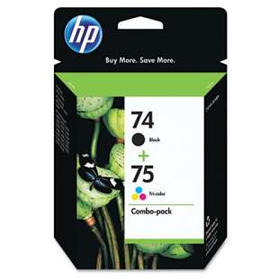 Original Hewlett Packard (HP) CC659FN (HP 74/75) Multipack - 2 pack