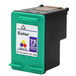 Remanufactured HP CB338WN (HP 75XL ink) high quality inkjet cartridge - high capacity color