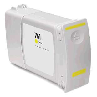 Remanufactured HP CM992A (HP 761 400ml ink) high quality inkjet cartridge - yellow