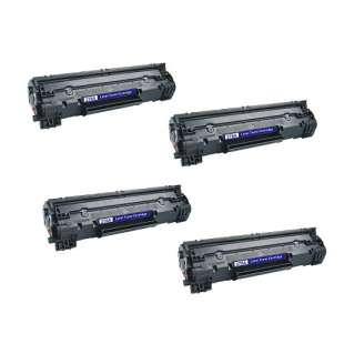 Compatible HP CE278A (78A) toner cartridges - EXTRA HIGH YIELD (JUMBO) high quality - 4-pack