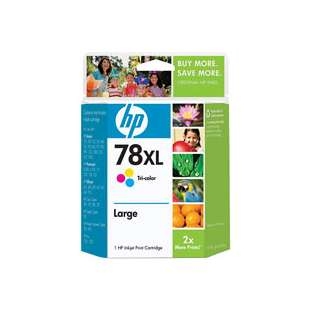 Original Hewlett Packard (HP) C6578AN (HP 78XL ink) high quality inkjet cartridge - high capacity color