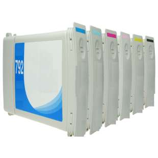 Remanufactured high quality inkjet cartridges Multipack for HP 792 - 6 pack