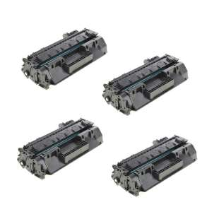 Compatible HP CF280A (80A) toner cartridges - 4-pack