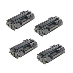 Compatible HP CF280X (80X) toner cartridges - 4-pack