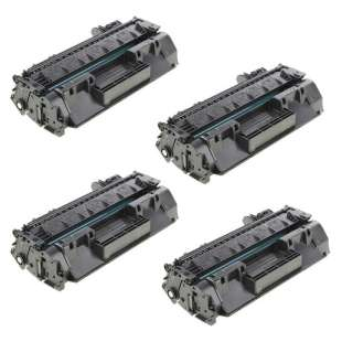 Compatible HP CF280X (80X) toner cartridges - EXTRA HIGH YIELD (JUMBO) high quality - 4-pack