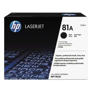 Original HP CF281A (81A) toner cartridge - black