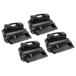 Compatible for HP CF281X (81X) toner cartridges - 4-pack